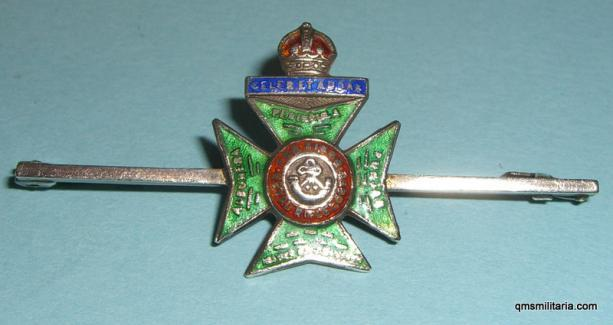 King's Royal Rifle Corps KRRC Sweetheart Badge Pin Brooch