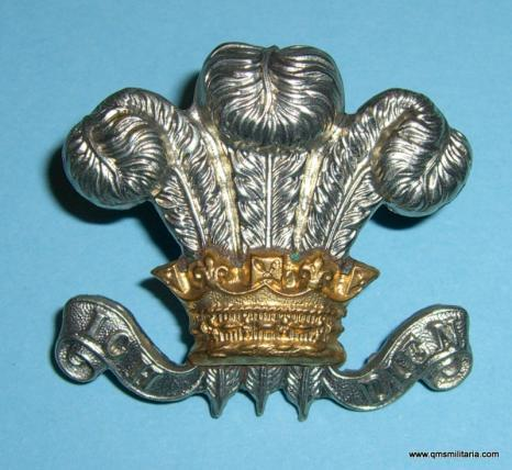 1 - The Royal Wiltshire Yeomanry Hussars ( Prince of Wales 's Own ) Bi-Metal Cap Badge