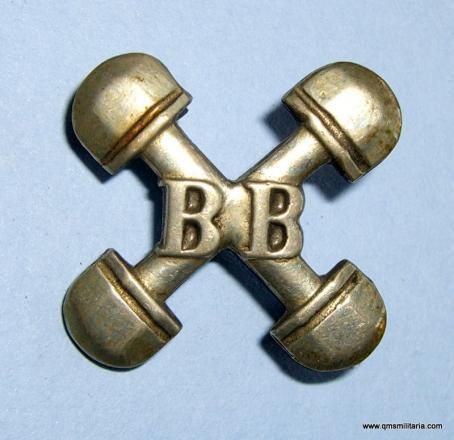 Boys Brigade 1917-1968 Gymnastics Silver Plated Proficiency Badge.