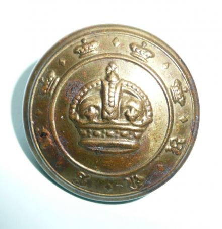 Malay States Volunteer Rifles / Regiment Large Brass Button