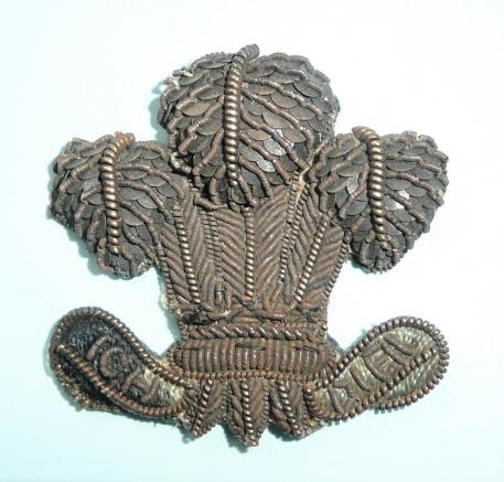South Lancashire Regiment (Prince of Wales's Volunteers) Officers Bullion Collar Badge