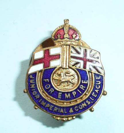 Junior Imperial and Constitutional League Young Conservatives Membership Lapel Badge