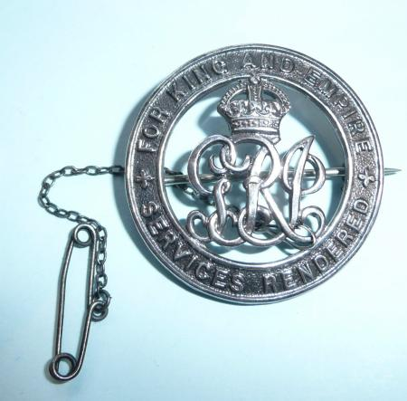 WW1 Silver War Badge (SWB) to the Royal Navy - RN23532