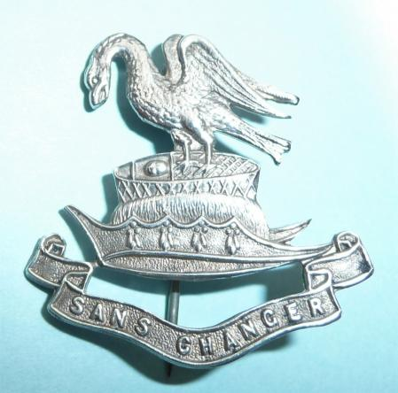 WW1 Liverpool Pals Sterling Silver Sweetheart Brooch Pin Badge