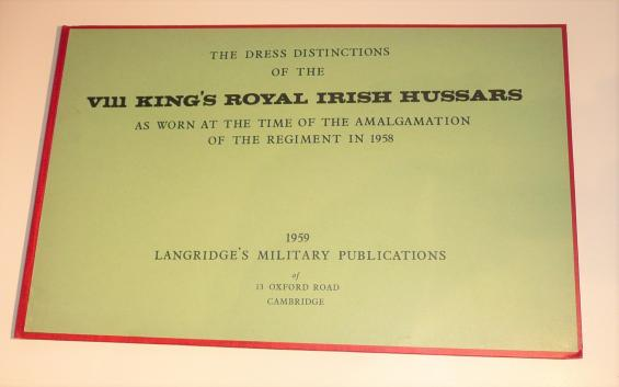 Langridge Dress Distinctions of the VIII 8th Royal Irish Hussars - Privately Bound
