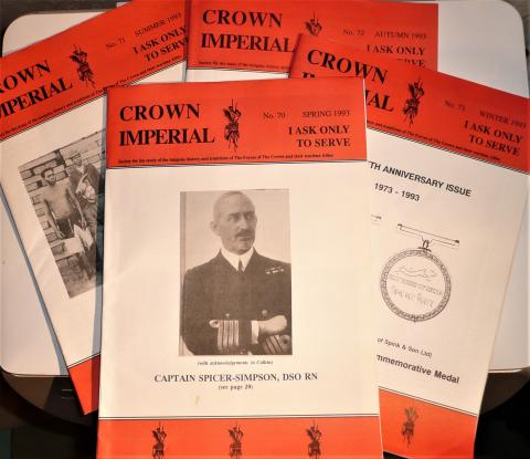 Crown Imperial Military Magazine Complete Set for 1993 - Four issues