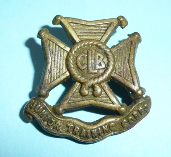 Church Lads Brigade Junior Training Corps (JTC) Brass Collar Badge